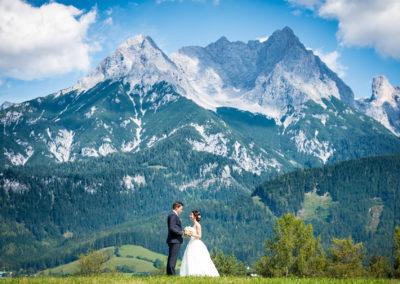 Hochzeit am steinernen Meer
