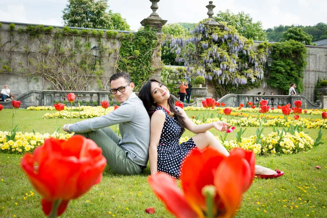 Save the Date und Love Shooting - Mirabellgarten Salzburg